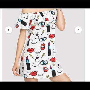 Boutique- Dresses - BNWOT Graffiti Dress